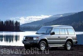 1991 Mitsubishi Pajero Wagon High Roof 001